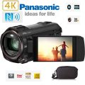 Panasonic 4K Wireless Twin Camcorder / Camera Hybrid with Leica 20X Optical...